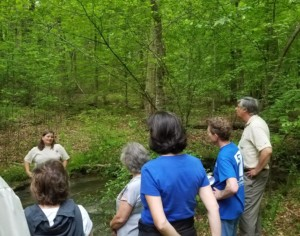 Covekeepers Hike Through Mountain Island Educational State Forest