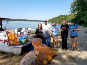 Another Successful Riversweep on Lake Wateree!