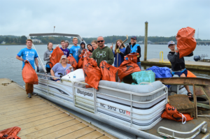 29,200 Pounds of Trash Collected at 15th Annual Lake Wylie Riversweep