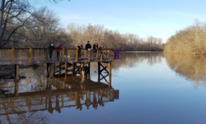 Catawba Riverkeeper Collecting Data on the South Fork