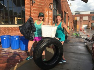 Ploggers keep 425 lbs of trash from our waterways!