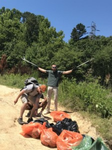 OMB Volunteers Collect 1750 Pounds of Trash from Mountain Island Lake