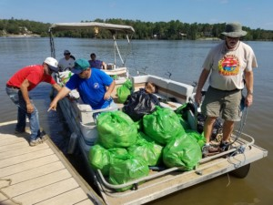 Lake Wateree Riversweep Nets 4,225 Pounds of Trash!